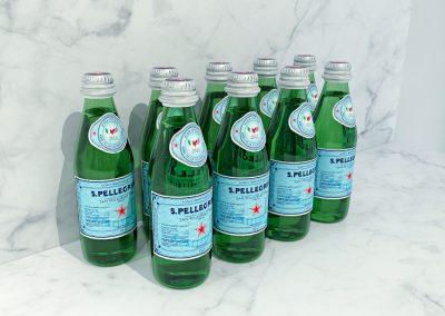 San Pellegrina bottles